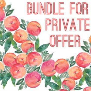 Other - Add Likes to Bundle for a Private Offer!